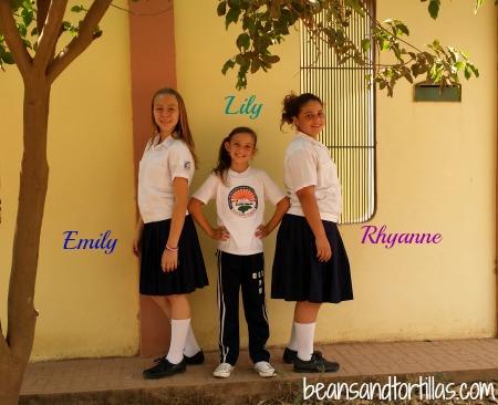 Emily, Rhyanne & Lily