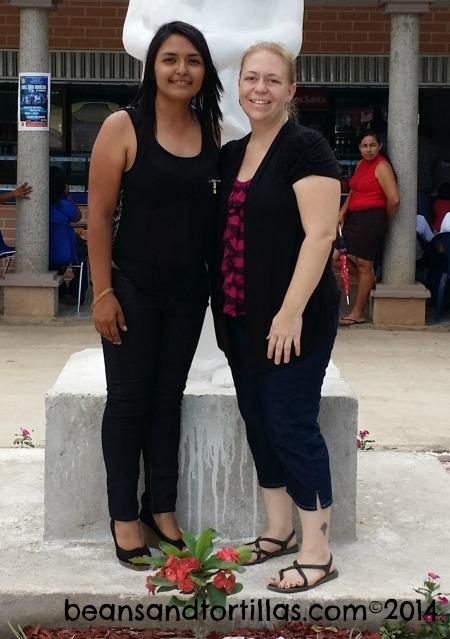Alejandra & A Supporter